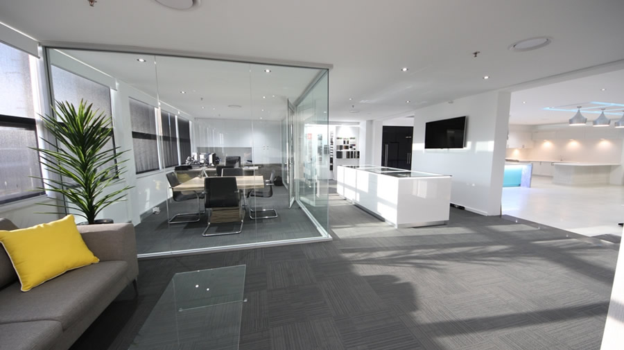 Kitchen Showroom Sydney - Chipping Norton. Showroom Foyer and Office
