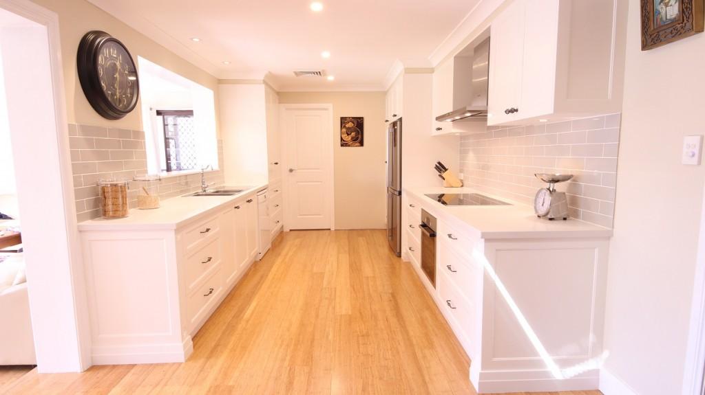 AFTER Kings Langley Renovation, Polyurethane Shaker Style kitchen