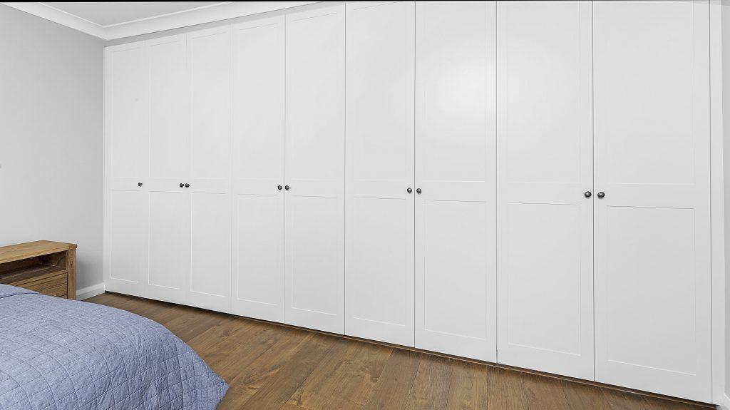 Polyurethane Shaker Style wardrobe - Oatley, Sydney