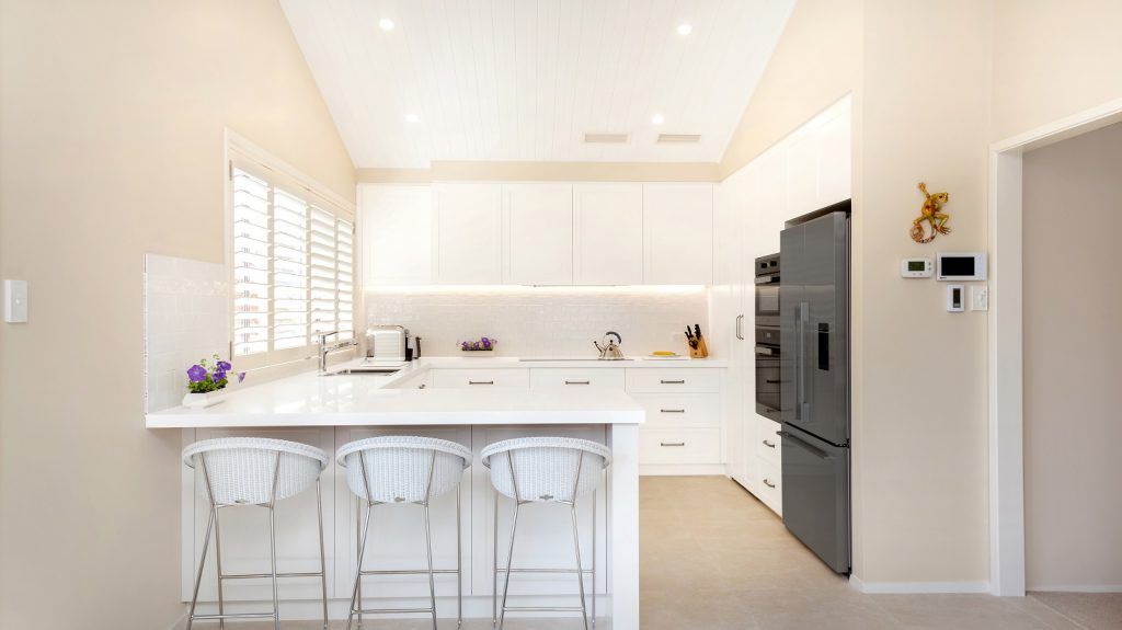 AFTER Carlingford Renovation, Satin Polyurethane Shaker Style kitchen