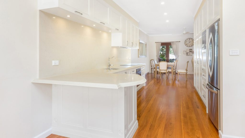 AFTER Caringbah South Renovation, Provincial Style kitchen