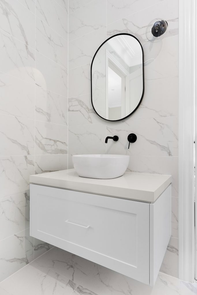 Shaker style vanity - Kellyville, Sydney