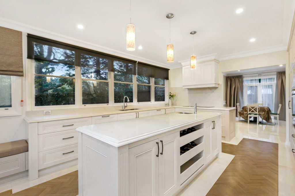 AFTER Turramurra Renovation, Polyurethane French Provincial Style Kitchen