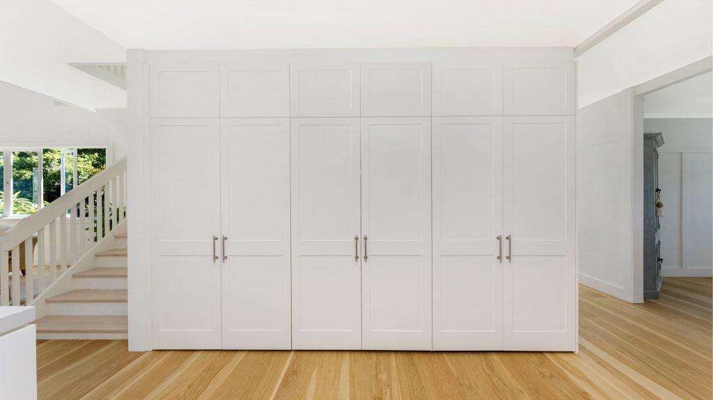 Satin Polyurethane Shaker Style storage and pantry unit - Collaroy, Sydney