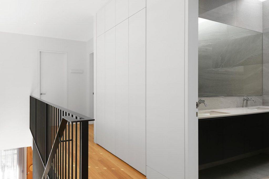 Polyurethane push-open storage cabinets - Putney, Sydney (2)