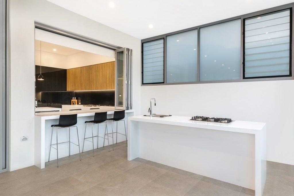 Waterproof Polyurethane outdoor kitchen - Guildford West, Sydney